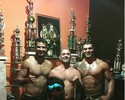 Bourez aproveita a folga treinando jiu-jítsu com ex-campeão de MMA