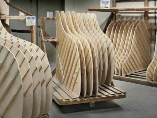 Fábrica da Steinway & Sons (Foto: Reprodução)