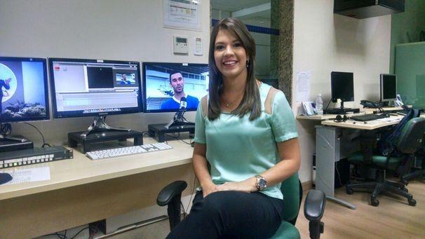 Tâmara Oliveira traz os destaques do esporte local no GE Sergipe (Foto: Divulgação/TV Sergipe)