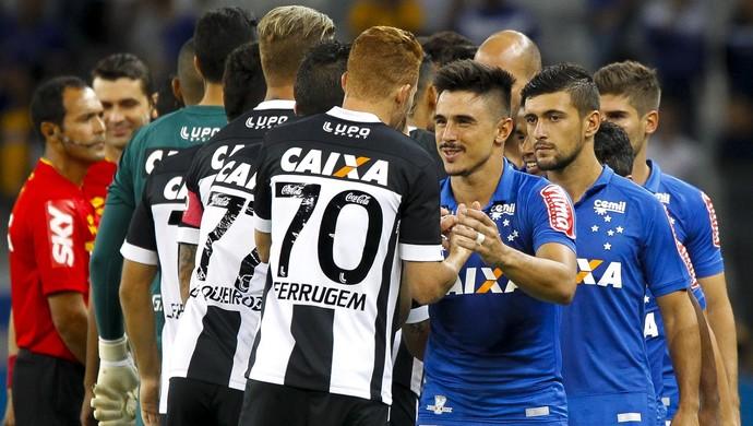 Cruzeiro; Figueirense (Foto: Washington Alves/Light Press)