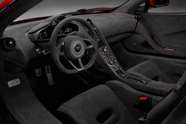 McLaren MSO HS interior (Foto: Divulgação)
