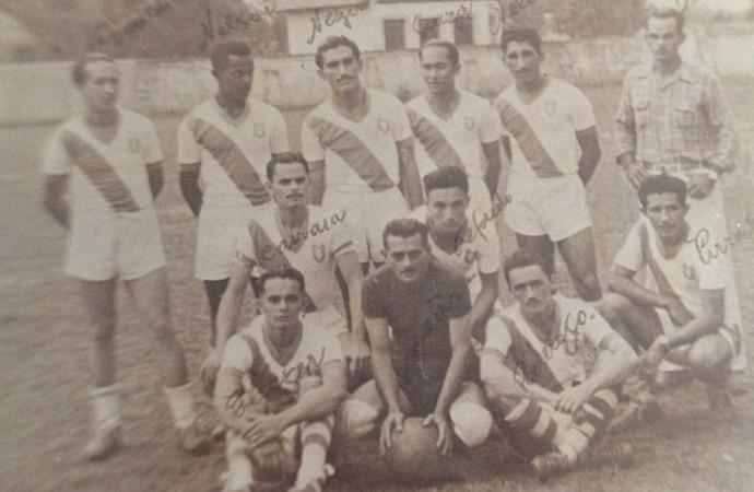 Ypiranga Esporte Clube, anos 80 (Foto: Ypiranga Esporte Clube/ arquivo pessoal )