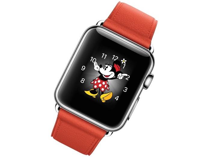 Apple Watch com face da Minnie (Foto: Divulgação/Apple)