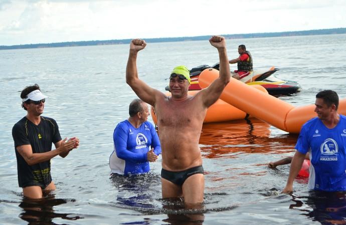 Jefferson Mascarenhas foi o único amazonense a participar de prova (Foto: Divulgação/Emanuel Mendes)