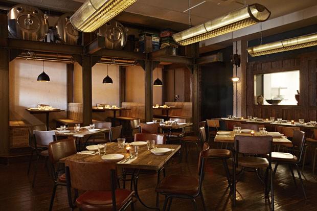 Restaurante tailandês ocupa espaço antigo em Londres (Foto: divulgação)