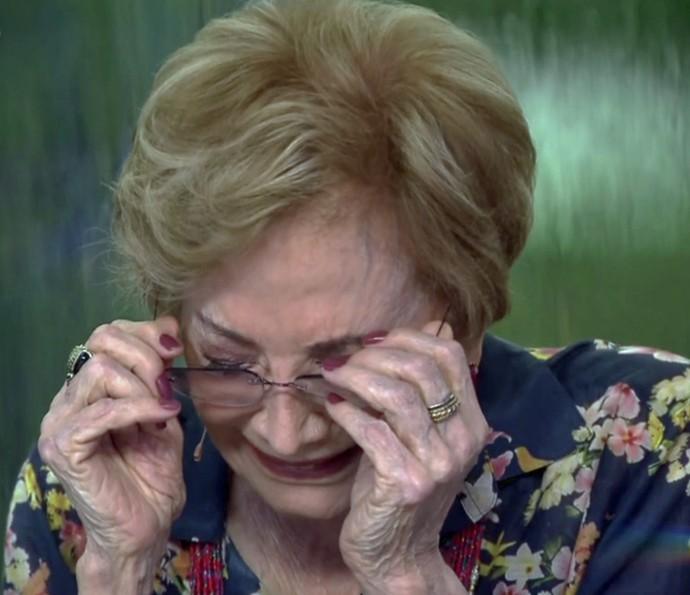 """Glória Menezes participou do quadro """"Meu vídeo é um show"""" (Foto: TV Globo)"""