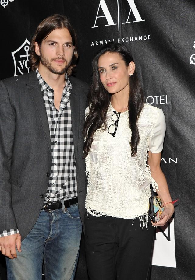 Ashton Kutcher e Demi Moore (Foto: Getty Images)