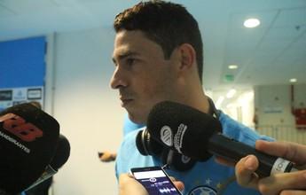 """Giuliano vibra com gol para """"recuperar confiança"""" e diz que agora está 100%"""