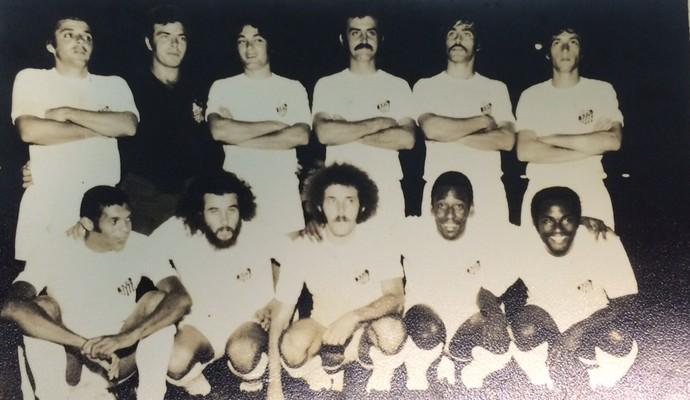 Time do Santos que enfrentou o ABC em 72 (Foto: César Virgílio/ Acervo Pessoal)