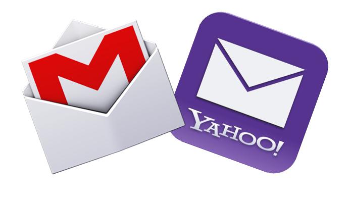 Google e Yahoo se unem para tornar seus serviços de e-mail mais seguros (Foto: Montagem)