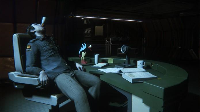 Corporate Lockdown traz uma nova perspectiva para os eventos de Alien: Isolation (Foto: Divulgação)