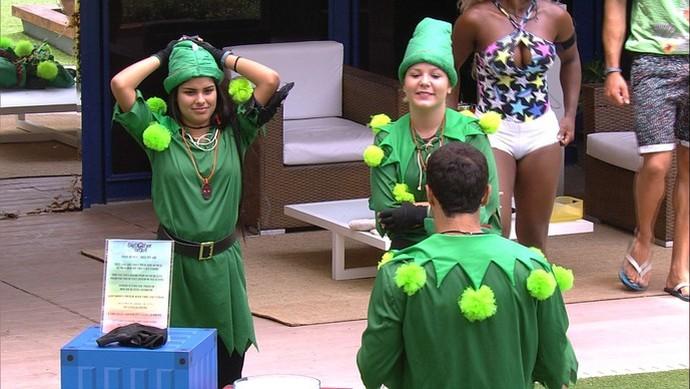 Castigo do Monstro  (Foto: Big Brother Brasil / Gshow)