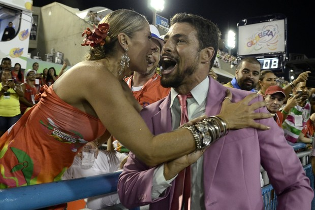 Cauã Reymond e Adriane Galisteu (Foto: Roberto Teixeira / EGO)