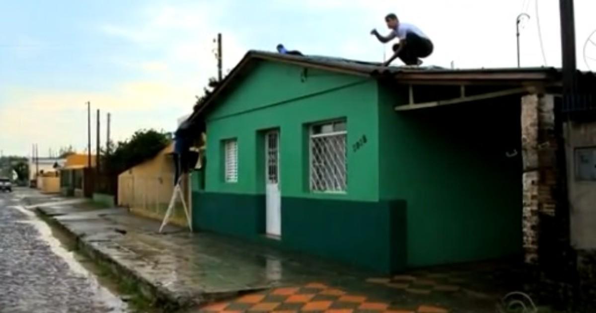Mais de 2 mil residências registraram estragos por causa do ... - Globo.com