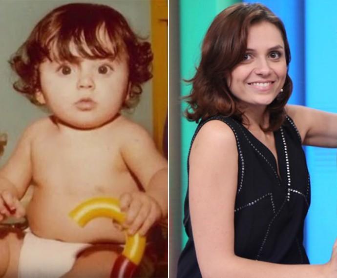 Monica Iozzi (Foto: Arquivo Pessoal e Isabella Pinheiro/Gshow)
