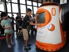 Torre de Tóquio ganha robô para receber e informar turistas