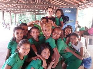Conheça o projeto na Ilha do Marajó que tem apoio do Criança Esperança (Foto: Rede Globo)