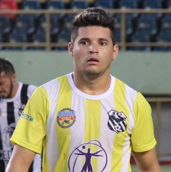 Hebert, goleiro do Andirá (Foto: João Paulo Maia)