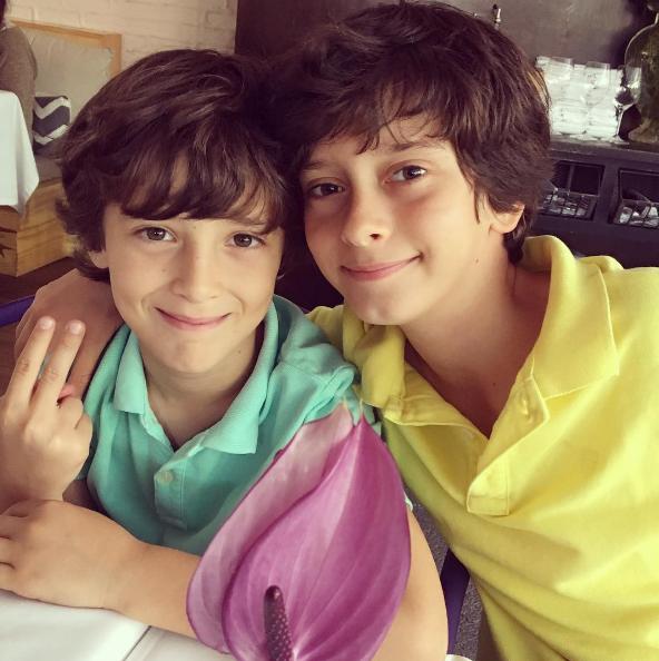 Filhos de Maria Fernanda Cândido (Foto: Reprodução/Instagram)