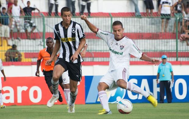 Marcos Junior, Fluminense x Botafogo - Sub 20 (Foto: Bruno Haddad/Fluminense FC)