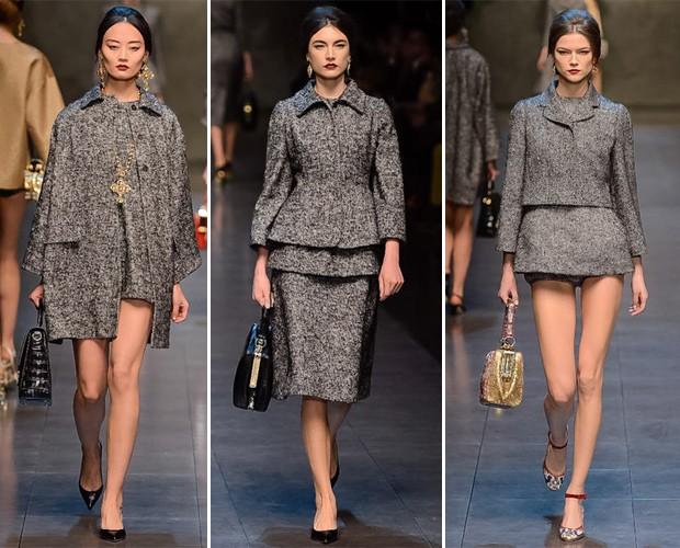 Dolce & Gabbana, inverno 2014 (Foto: Reprodução/Style.com)