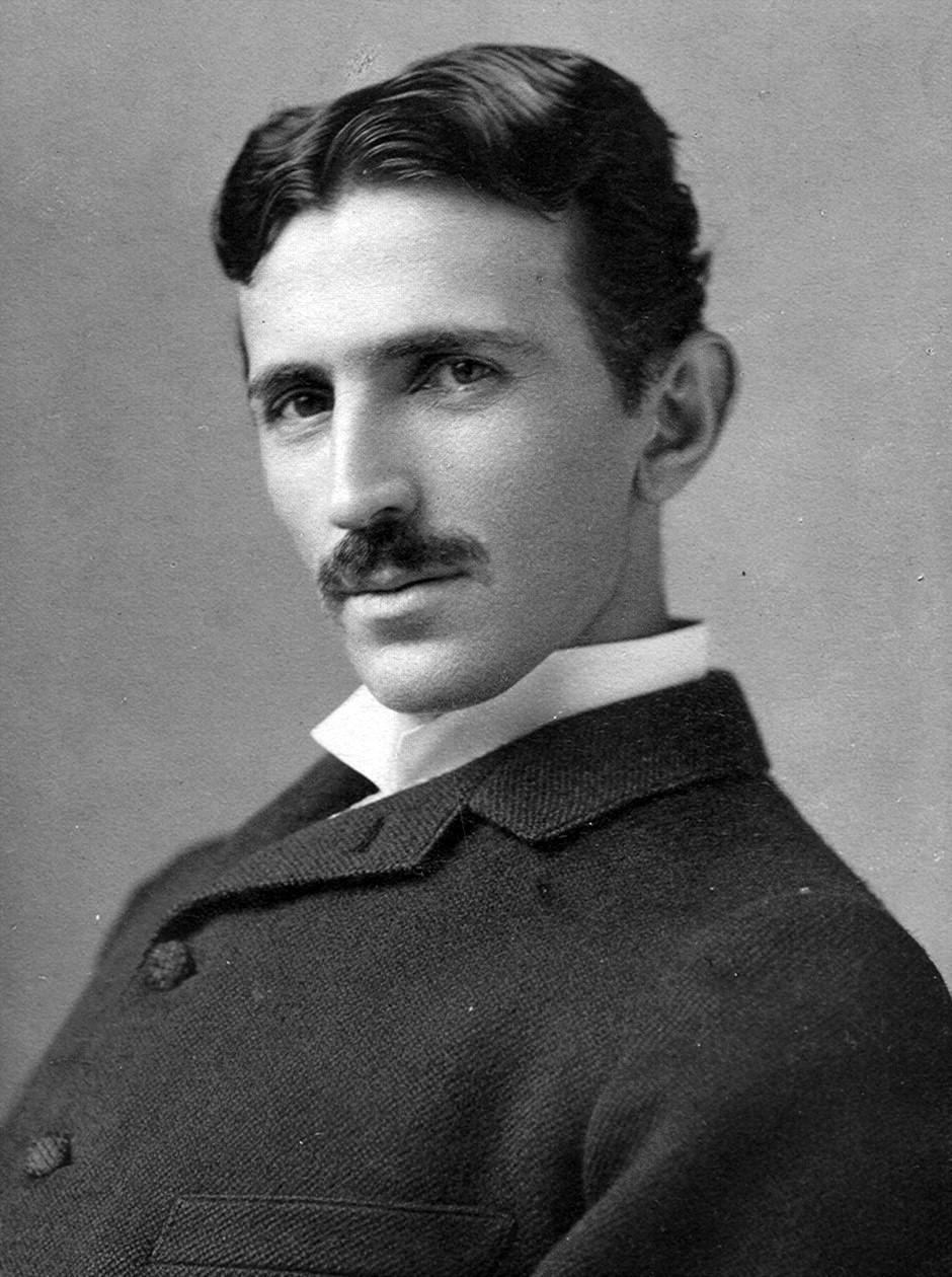 Tesla aos 34 anos (Foto: Wikimedia/Napoleon Sarony)
