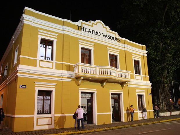 Teatro Vasques em Mogi das Cruzes (Foto: Ney Sarmento/PMMC)