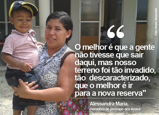 Alessandra Maria Anacé (Foto: André Teixeira/G1)