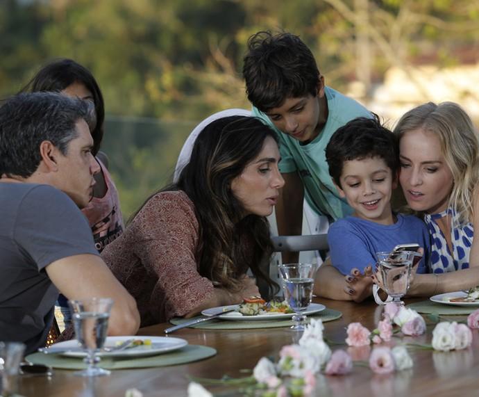 Angélica vai à casa de Márcio Garcia para cozinhar (Foto: Fábio Rocha / Gshow)