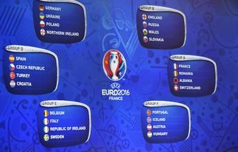 França, Alemanha e Portugal escapam de pedreiras em sorteio da Euro 2016