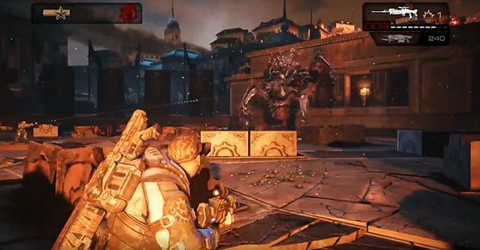 Gears of War: Judgement tem visual colorido (Foto: Reprodução/YouTube)