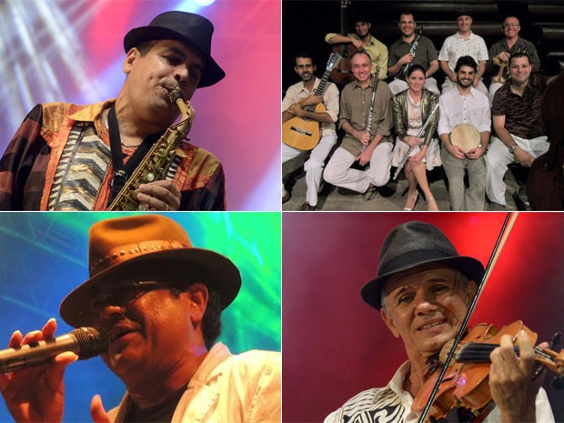 Maestro Spok, grupo Sa Grama, Antonio Carlos Nóbrega e Maciel Melo estão entre os convidados para as festas de 85 anos do Conservatório Pernambucano de Música  (Foto: Divulgação)