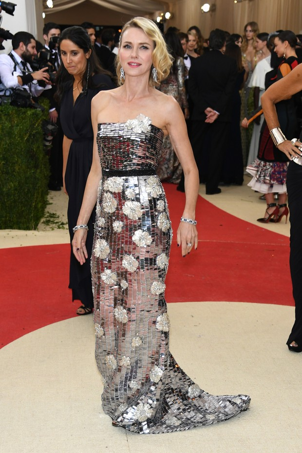 Naomi Watts no MET (Foto: AFP / Getty)
