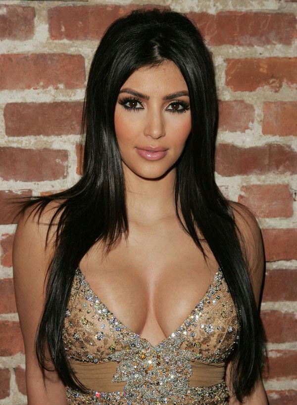 Kim Kardashian em 2007 (Foto: Getty Images)