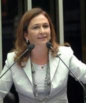 Kátia Abreu, do PMDB, é reeleita senadora (Divulgação/Kátia Abreu)