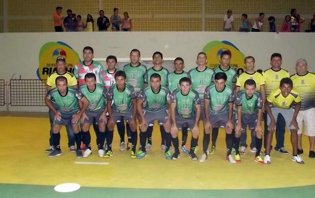 Handerson Neves era goleiro de futsal do Catolé SC/Riacho dos Cavalos (Foto: Arquivo pessoal)