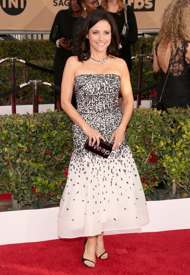 Julia Louis-Dreyfus no SAG Awards (Foto: Getty Images)