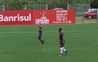 Reencontro: William e Anderson trabalham juntos no Inter após briga