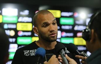 """Éverson fala em confiança e diz que Ceará voltou com o """"bom futebol"""""""