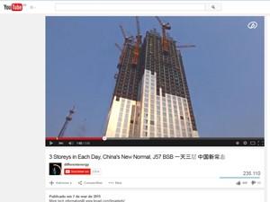 Edifício da Broad Sustainable Building (Foto: Reprodução/YouTube)