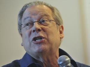O ex-ministro José Dirceu durante seminário em Brasília em setembro de 2011 (Foto: Elza Fiúza / Agência Brasil)