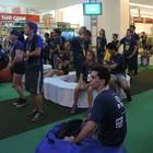 Participantes disputam as fases finais (Bruna Alves/G1)