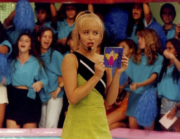 """Angélica apresentou o """"Angel Mix"""" entre 1996 e 2000 (Foto: Reprodução/TV Globo)"""