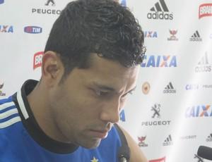 Flamengo Andre Santos (Foto: Janir Junior)