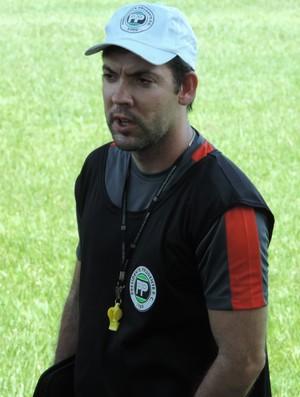 Marcelo Guimarães, técnico do Presidente Prudente, PPFC (Foto: Ronaldo Nascimento / GloboEsporte.com)