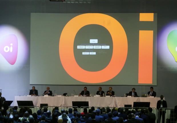Representantes da Oi e de seus credores participam de Assembleia Geral de Credores no Rio de Janeiro (Foto: Pilar Olivares/Reuters)