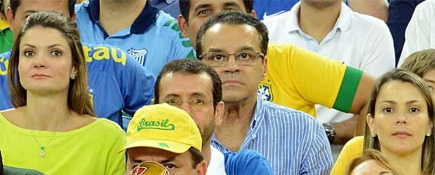Henrique Alves, presidente da Câmara, maracanã (Foto:  )