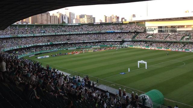 Resultado de imagem para Coritiba x Fluminense torcida couto pereira
