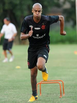 Alex Silva Flamengo treino (Foto: Alexandre Vidal / Flaimagem)