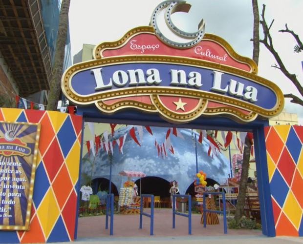 Lona na Lua (Foto: TV Globo)